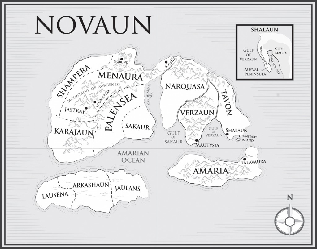 Map of Novaun