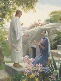 Mary and the Resurrected Lord